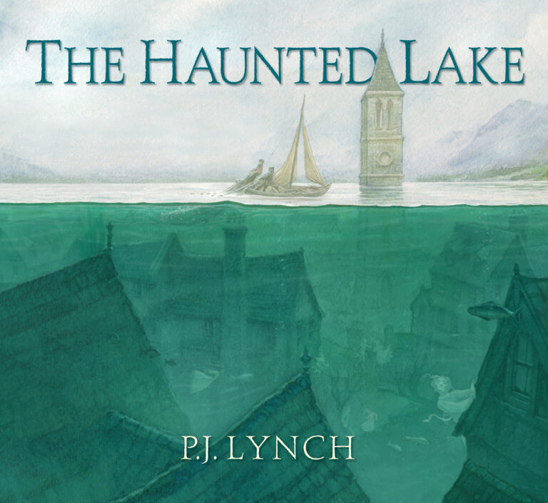 The Haunted Lake Cover by P.J. Lynch