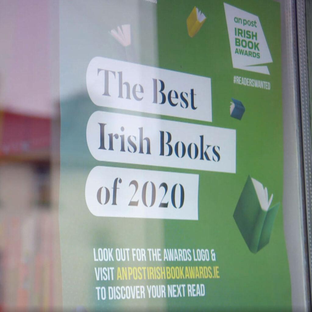 Irish Book Awards Poster Through Glass 2020 Bookshop