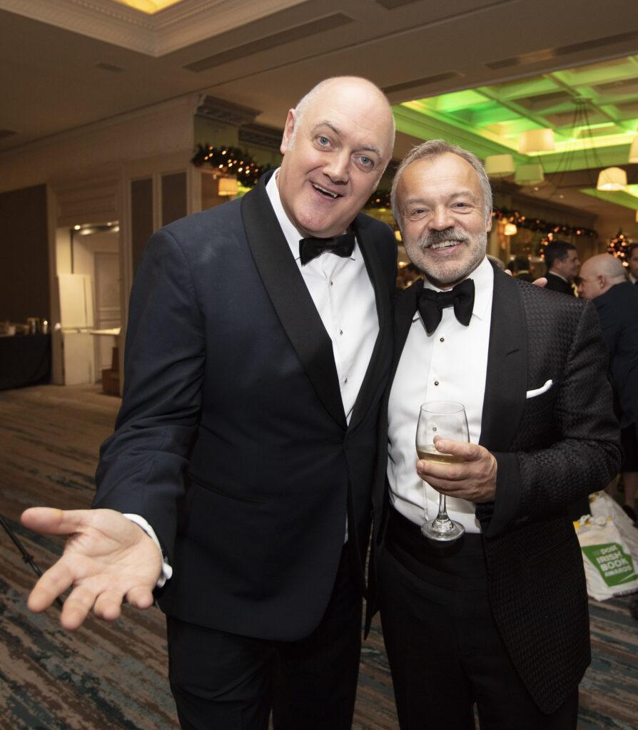 Graham Norton and Dara O'Brien at The Irish Book Awards